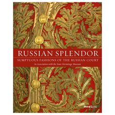 This stunning volume showcases the magnificent court dress of the Russian Empire, culled from the authoritative collection at the State Hermitage Museum and photographed against the backdrop of the Winter Palace.