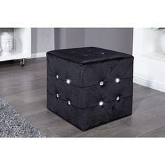 Moderne hocker Boutique zwart - 11042