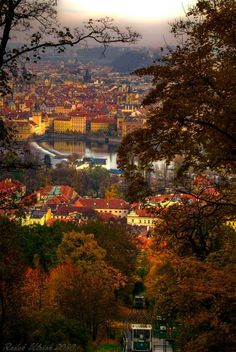A view of Prague city. Find out what to do in this gorgeous city!