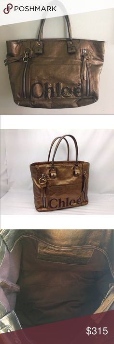 Chloe tote In excellent condition not stains not rips, not bad odors Chloe Bags Totes