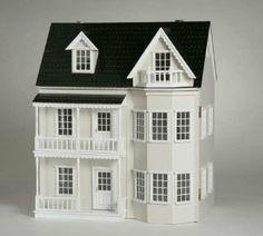 Puppenhaus Romantic in weiss: Amazon.de: Spielzeug