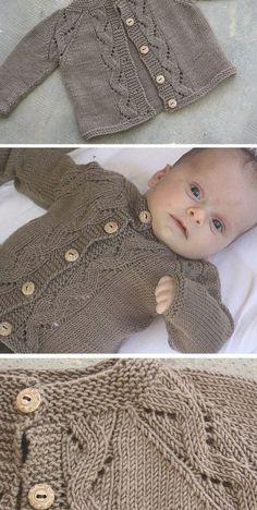 Sunnyside Cardi - Free Pattern - knitting baby patterns , Sunnyside Cardi - Free Pattern Free Knitting Pattern To test. Knitting Patterns Boys, Baby Sweater Patterns, Knit Baby Sweaters, Kids Patterns, Knitting For Kids, Free Knitting, Baby Cardigan Knitting Pattern Free, Baby Boy Sweater, Knitted Baby Clothes
