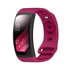 Samsung Gear Fit 2 SMR360 BandsAutumnFall Silicon Bracelet Strap Replacement Band for Samsung Gear Fit 2 SMR360 Wine *** Read more reviews of the product by visiting the link on the image.