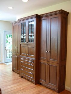 Kitchen Elements Custom Cabinetry, Homesteading, Tall Cabinet Storage, Archive, Kitchens, Furniture, Design, Home Decor, Custom Cabinets