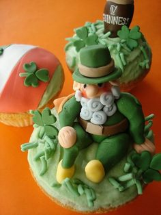 polymer clay irish | Irish Eyes Are Smiling A wee Polymer clay lad | A Tribute to all ...