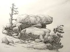 Image result for how to draw rocks