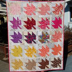 #modernmaples quilt by Mermaid Sews/Lorelei Craig - one of these days I'm going to make one of these!