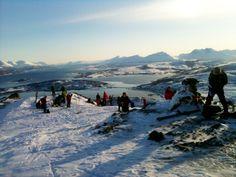Kvaløya, Tromsø - folkesporten topptur.