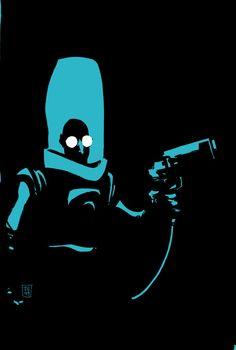 Batman: Dark Victory #10 by Tim Sale