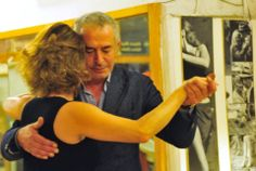 """momenti di tango alla pratica-milonga """"el compardito"""" presso danza nuova a roma in zona prati"""