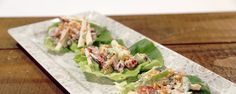 These Waldorf Salad Cups are a great & light appetizer for Thanksgiving!