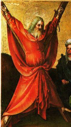 Andreas Apostel..1451. Duitsland. Marteldood.