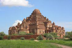 Dhammayangyi Paya (Pagoda), located in the Bagan Archeological Area of Myanmar Hindu Temple, Buddhist Temple, Buddhist Art, Bagan, History Of Buddhism, Where The Sun Rises, Burma Myanmar, Indian Architecture, Burmese
