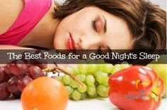 What you eat can drastically affect how you sleep, so in order to get a good night's rest, it is essential to choose foods that calm your mind and body rather than those that stimulate you. Certain types of foods will naturally promote rest and relaxation, particularly those that contain tryptoph