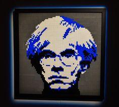 "30 Me gusta, 1 comentarios - @lorenzogazziphoto en Instagram: ""Warhol, Sawaya, The Art of Brick...#art #mosaic #warhol #andywarhol #lego #lego® #legoart…"""