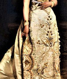 Queen Margherita of Italy by Pasquale de Criscito, 1878