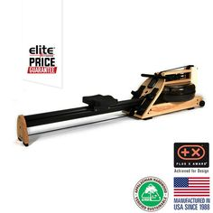 WATERROWER INDO-ROW  HONEY OAK STUDIO ROWING MACHINE