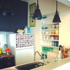 Fun with Stickygram - how I want our fridge