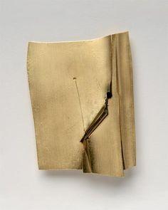 Othmar Zschaler Brosche, 1974 - Gold 750, Kunststoff - 57x74x6mm - Inv.Nr.355/2006/OZ