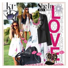"""Shein XII/12"" by lip-balm ❤ liked on Polyvore featuring Spineless Classics, SHOUROUK and shein"