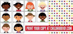 Managing Big Emotions: Printable Emotions Cards & Matching Game | Childhood101