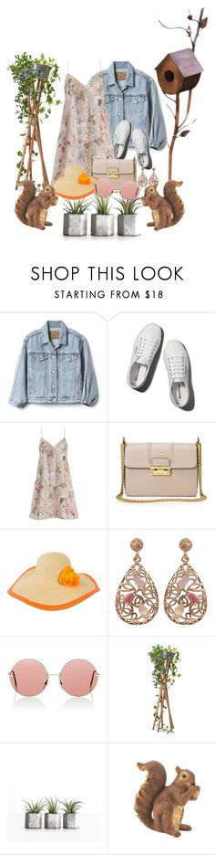 """Coachella floral"" by nadialestari99 ❤ liked on Polyvore featuring Gap, Abercrombie & Fitch, Zimmermann, Lanvin, Sakkas, Luxiro, Christopher Kane and Zingz & Thingz"