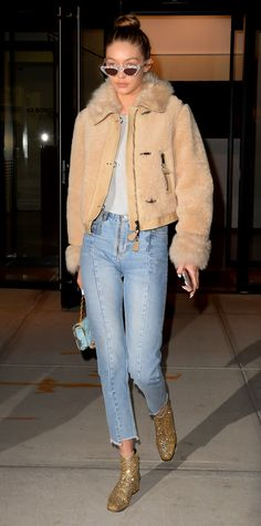 Gigi Hadid's Best Street Style Moments - January 19, 2017 from InStyle.com