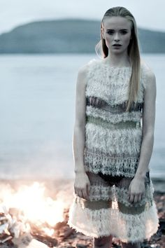 Gudrun Og Gudrun are knit designers on the Faroe Islands
