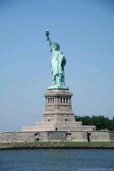New York City NY.  Statue of Liberty