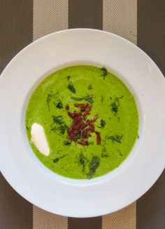 Heerlijke snelle  Groene Erwtensoep #soup