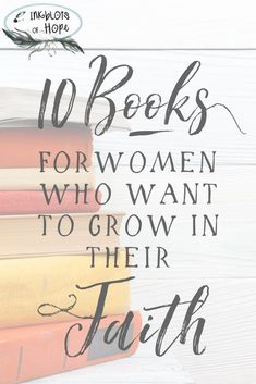 For the women looking for resources to help them grow in faith. Wanting a good book to read that will help deepen your walk with God? Here is a list of books for women who want to grow in their faith. Christian Encouragement, Encouragement Quotes, Faith Quotes, Christian Life, Christian Women Quotes, Christian Living, Was Ist Pinterest, Christian Resources, Finding God