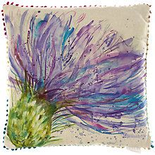 Buy Voyage Expressive Thistle Cushion Online at johnlewis.com
