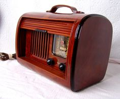 "Collect this idea From all of the radios produced between the 1930's and 1940's, Paul Sanders finds the ones that have eye-appeal. He restores radios with only the best art deco and mid-century design from the Golden Era of radio. In Paul's words, ""Its not always the most expensive, or the best performing model. Often …"