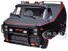 "1983 GMC Vandura Cargo Van ""A Team"" 1/18 Diecast Model by Hotwheels"