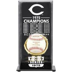 Cincinnati Reds Fanatics Authentic 1975 World Series Champions Baseball Display Case - $49.99