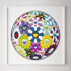 Takashi Murakami Flower Ball Awakening