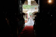 here comes the bride The Mission Inn Wedding Kevin Le Vu Photography43