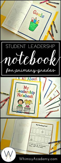 Are you part of a Leader in Me school? Leadership Notebooks and Data Binders can seem overwhelming to take on for kindergarten, first grade, or second grade students, but this resource makes that easy. These Leadership Notebooks have the Seven Habits inte