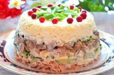 Подборка салатов со свежими ОГУРЧИКАМИ1. Куриный салат с яйцами и грибамиИнгредиенты:Копченая куриная грудка — 200 гОгурец свежий — 150 гГрибочки маринованные — 150 гЛук репчатый — 1 шт.Яйца варены…