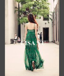 Online Shop New 2014 Summer vintage bohemia fashion chiffon print dresses ultra long casual oversized women summer dress beach dress E08|Aliexpress Mobile