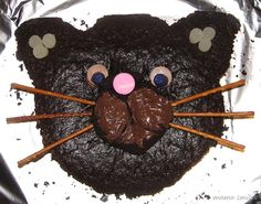 cat cake - very easy!