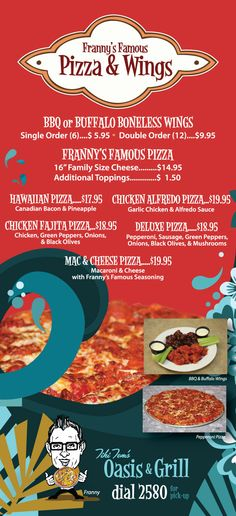 Franny's Famous Pizza & Wings