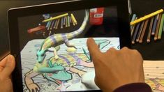 Webscape: Augmented reality app brings drawings to life