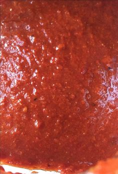 Despite the small detail, this recipe is packed with huge flavor. New Mexico Red Chile… Red Chile Posole Recipe, Red Chile Sauce Recipe, Chili Sauce, Enchilada Sauce, Red Chili Salsa Recipe, New Mexico Salsa Recipe, New Mexico Enchiladas Recipe, Chili Seasoning, Hot Sauce Recipes