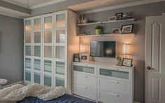 Ikea's Home Tour Squad tackled a cluttered bedroom in Blue Springs and a dark and uninspired basement home office in Fairway. The transformations included adding new furniture and repurposing existing ones. The results stunned the homeowners.