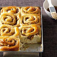 Petits pains escargots pomme cannelle léger, léger..-Recette Weight Watchers
