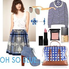 I'm feeling oh so Blue... | Women's Outfit | ASOS Fashion Finder