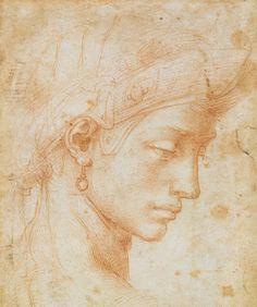 Michelangelo Buonarroti-Viso ideale #TuscanyAgriturismoGiratola