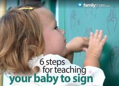 http://familyshare.com/ldquomorerdquo-or-ldquoall-done-rdquo-teaching-your-baby-to-sign?Itemid=631#.UXAiYaJ9H3U FamilyShare.com l #Teaching your #baby to sign