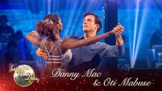 Danny & Oti American Smooth to 'Misty Blue' by Dorothy Moore - Strictly ...